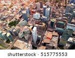Aerial View Of Toronto Skyline...