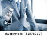 businessman analyzing... | Shutterstock . vector #515781124