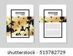 abstract vector layout... | Shutterstock .eps vector #515782729