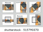 abstract vector layout... | Shutterstock .eps vector #515790370