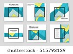 abstract vector layout... | Shutterstock .eps vector #515793139