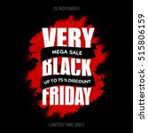 black friday sale inscription... | Shutterstock .eps vector #515806159