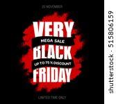 black friday sale inscription... | Shutterstock .eps vector #515806159