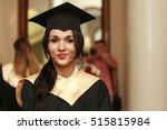 graduate students wearing... | Shutterstock . vector #515815984