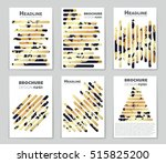 abstract vector layout... | Shutterstock .eps vector #515825200