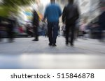 abstract image of people... | Shutterstock . vector #515846878