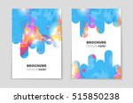 abstract vector layout... | Shutterstock .eps vector #515850238