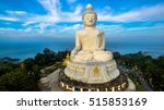 big buddha statue was built on... | Shutterstock . vector #515853169