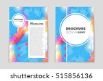 abstract vector layout... | Shutterstock .eps vector #515856136
