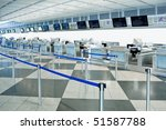 The Public Check In Area Of An...