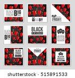abstract vector black friday... | Shutterstock .eps vector #515891533