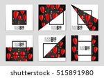 abstract vector black friday... | Shutterstock .eps vector #515891980