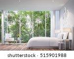 White Bedroom Modern Minimalis...