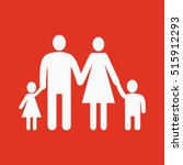 the family icon. family symbol. ... | Shutterstock . vector #515912293