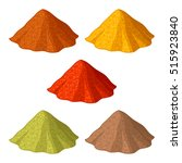 powders   Shutterstock .eps vector #515923840