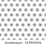 black and white color seamless... | Shutterstock .eps vector #515942596