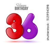 Thirty Six Birthday Greeting...