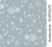 vector seamless winter pattern... | Shutterstock .eps vector #515955670
