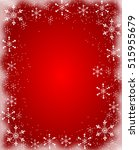 red christmas background with... | Shutterstock . vector #515955679