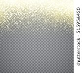 gold glitter particles...   Shutterstock .eps vector #515956420