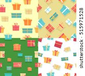 seamless pattern with colorful... | Shutterstock . vector #515971528