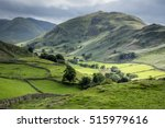 lake district valley | Shutterstock . vector #515979616