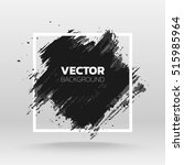 black grunge abstract... | Shutterstock .eps vector #515985964