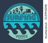 surfing typography  t shirt...