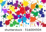 abstract background of colored... | Shutterstock .eps vector #516004504