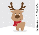 Cute Reindeer Design
