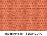 brown brick wall background  ...   Shutterstock .eps vector #516042040