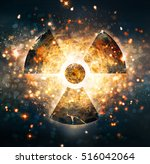 nuclear explosion | Shutterstock . vector #516042064