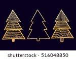 vector set of hand drawn...   Shutterstock .eps vector #516048850