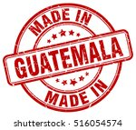 made in guatemala. stamp. | Shutterstock .eps vector #516054574