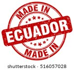 made in ecuador. stamp. | Shutterstock .eps vector #516057028