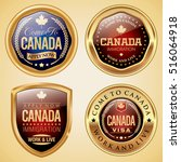 canada immigration and visa... | Shutterstock .eps vector #516064918
