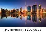 Panoramic View Dubai Business Bay - Fine Art prints