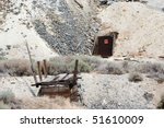 old mine entry and bridge in... | Shutterstock . vector #51610009