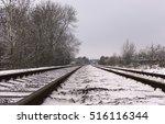 Winter Railway Tracks