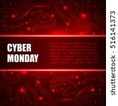 sale technology banner for... | Shutterstock .eps vector #516141373