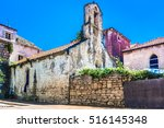 View At Old Ancient Church In...