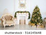 Luxury Living Room Interior...