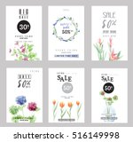 sale banners collection for... | Shutterstock .eps vector #516149998