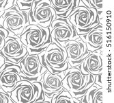 vector seamless pattern with... | Shutterstock .eps vector #516150910