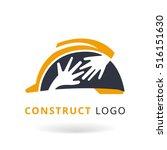 construction logo template...