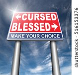 blessed cursed sacred and... | Shutterstock . vector #516153376