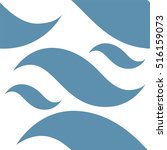 abstract vector. waves | Shutterstock .eps vector #516159073