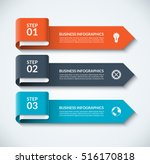 arrow design elements for... | Shutterstock .eps vector #516170818