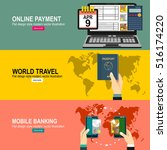 vector moe payment. near field... | Shutterstock .eps vector #516174220