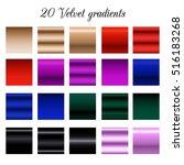 black velvet tone color shade... | Shutterstock .eps vector #516183268